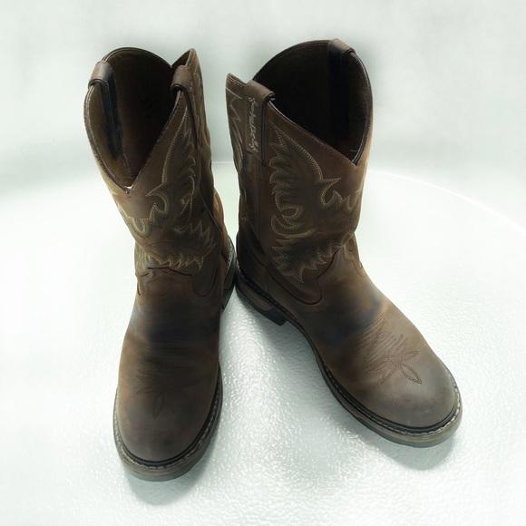 5ccc2e35c13 Tony Lama TLX Western Cheyenne Work Boots